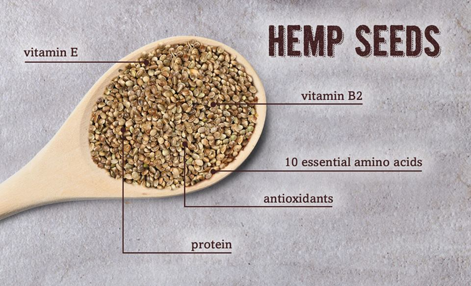 Hemp seeds Verival