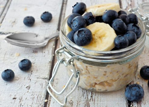 Overnight Oats sind das perfekt Frühstück für Morgenmuffel