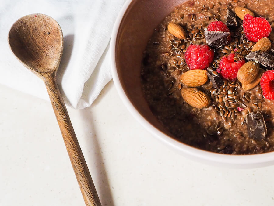 mandeln topping frühstück gesund