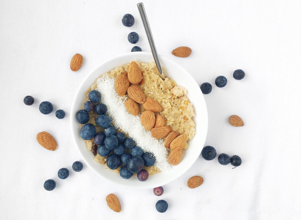 Nuts added to your breakfast