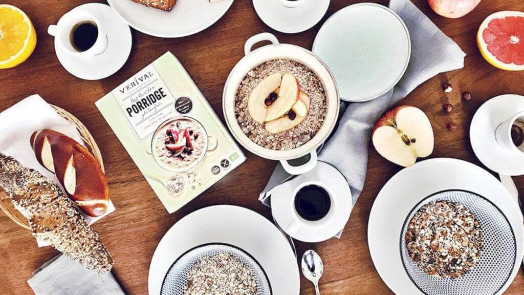 Bircher Müsli & Bircher Porridge von Verival