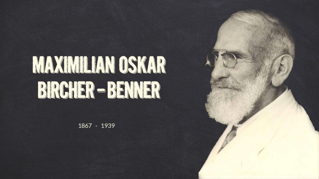 Maximilian Oskar Bircher-Benner - der Erfinder des Bircher Müsli
