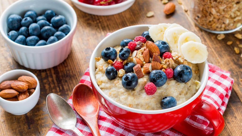 Porridge zum Abendessen