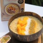 Rezept Mango-Maracuja Porridge Smoothiebowl