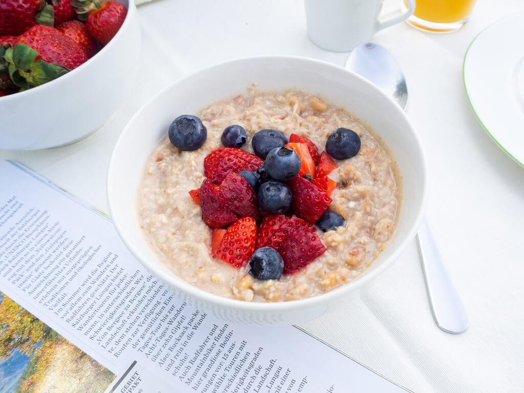 Porridge ist gut für deine Verdauung