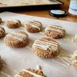 Rezept Mandel-Porridge Cookies mit Honig Rezeptimage