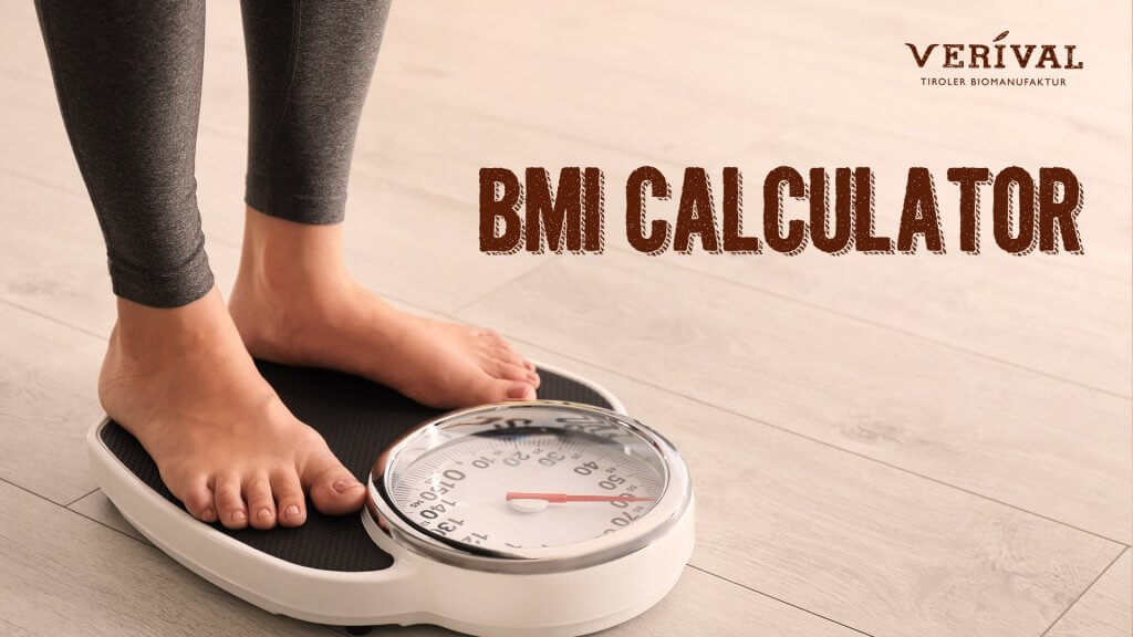 BMI calculator from Verival - calculate your BMI now for free