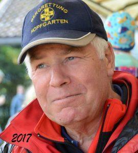 Mountain rescuer Klaus Manzl