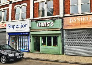 The Lewis's in Moseley, Birmingham