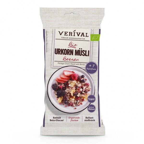 Verival Heritage Grains Muesli with Berries 50g