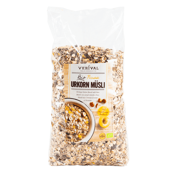 UK-40128 Heritage Grains Muesli with Nuts 2000g