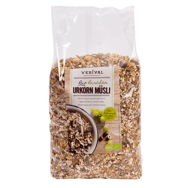 UK-40153 Bircher Muesli with Heritage Grains 1500g