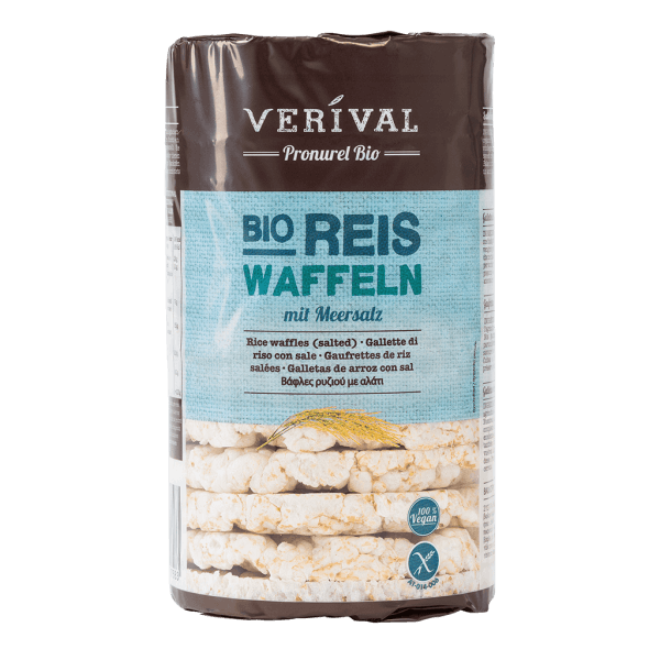 UK-758100 Rice Waffles (salted)