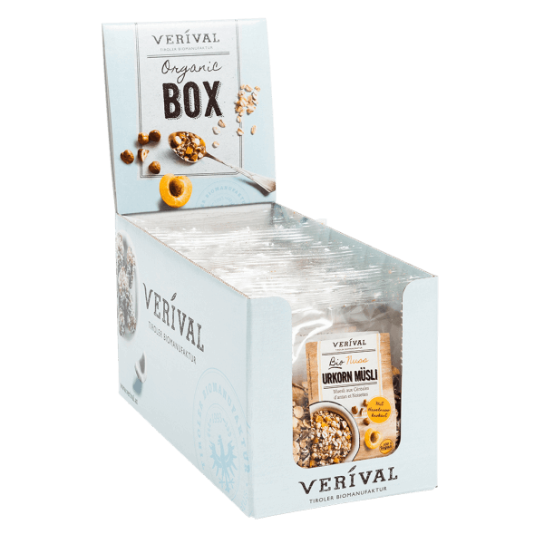 Cereal-Box Heritage Grains Muesli with Nuts 12x 60g