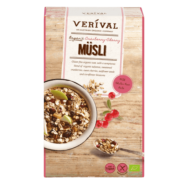 UK-40189 Cranberry Cherry Muesli