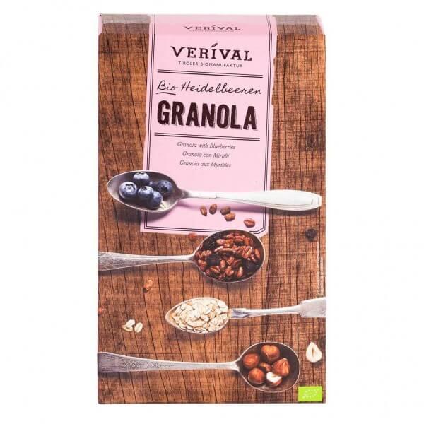 Verival Heidelbeeren Granola