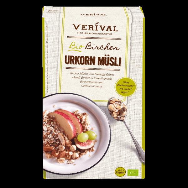 Verival Bircher Muesli with Heritage Grains