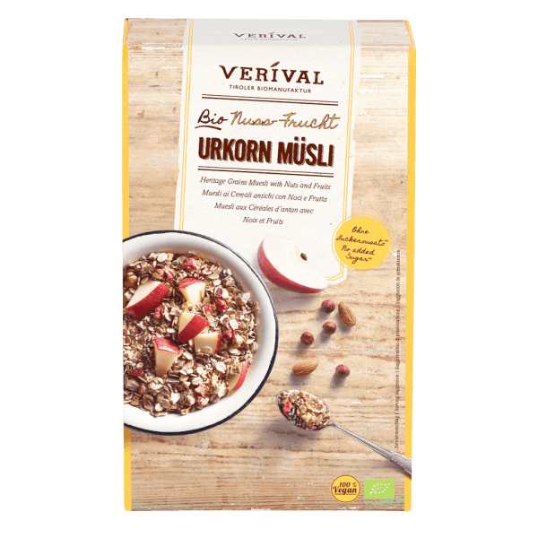 40169 Heritage Grains Muesli with Nuts and Fruits