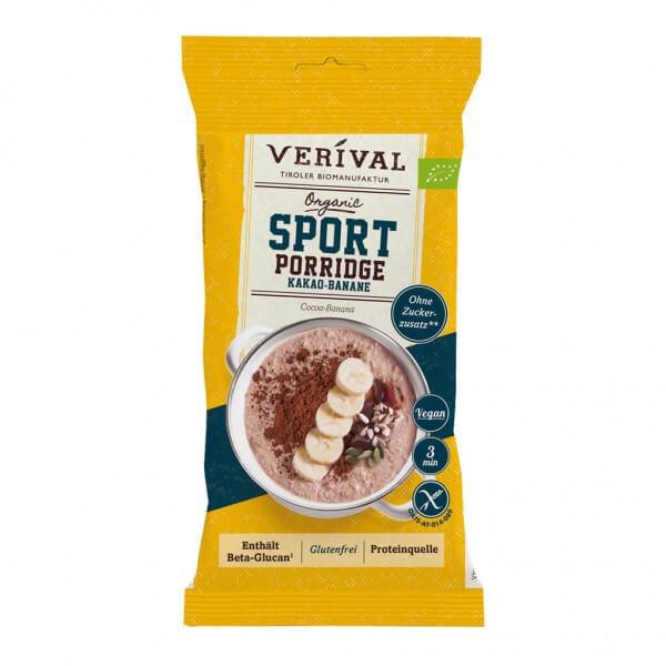 Sport porridge chocolate-banana 45g