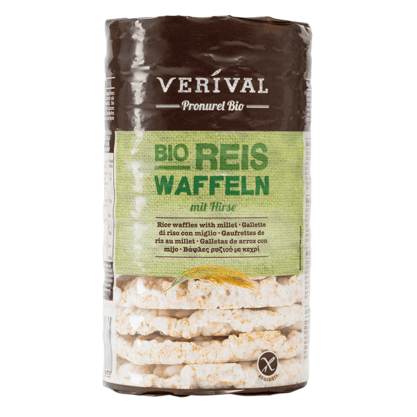 UK-183100 Rice Waffles with Millet