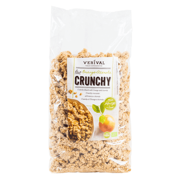 UK-40072 Crunchy muesli with orange and acerola 1500g
