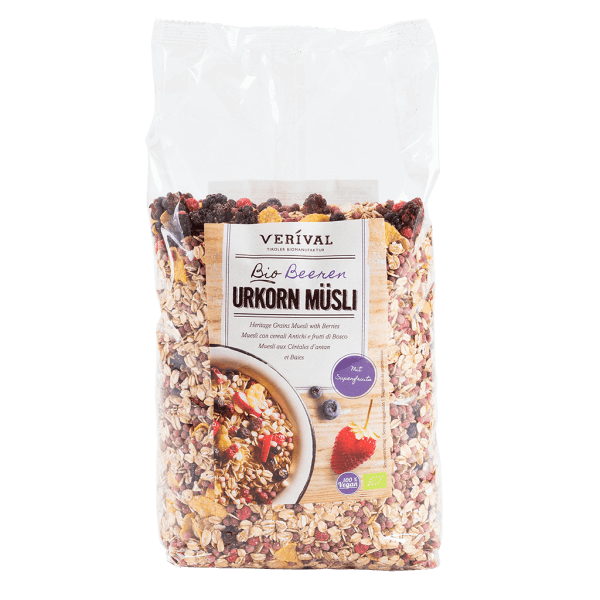 UK-40071 Heritage Grains Muesli with Berries 1300g