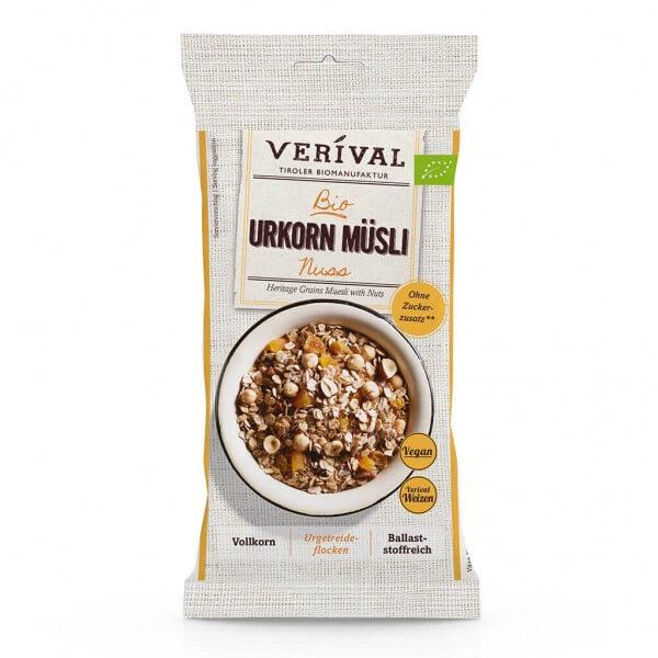 Verival Heritage Grains Muesli with Nuts 60g