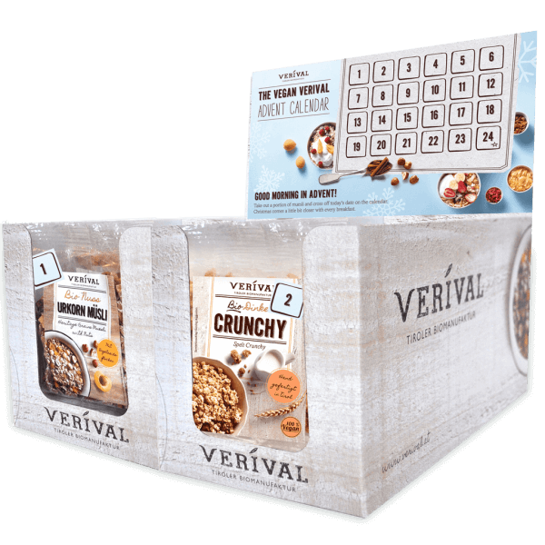 Verival Advent Calendar Vegan