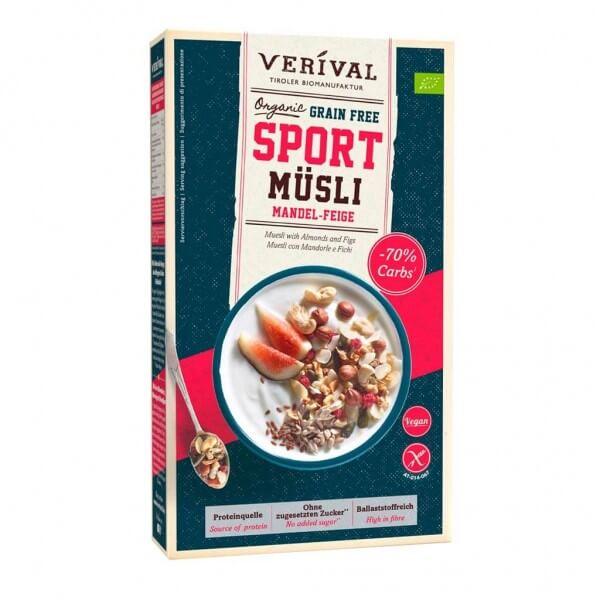 Grain Free Sport Muesli Almond-Fig
