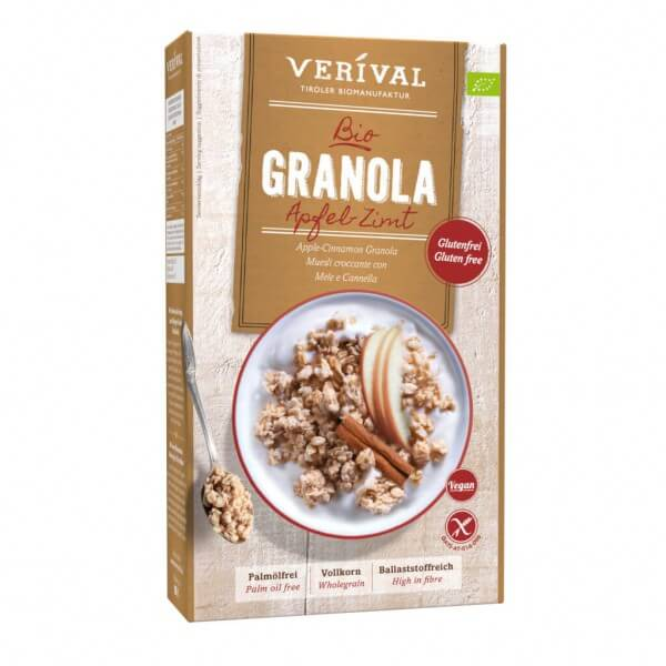 Apple-Cinnamon Granola