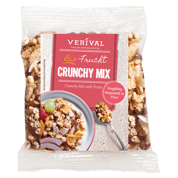 Verival Crunchy Mix with Fruits 45g