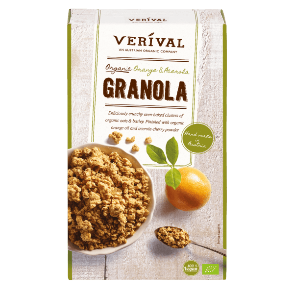 Orange-Acerola Granola