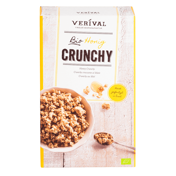 UK-40015 Honey Crunchy 375g