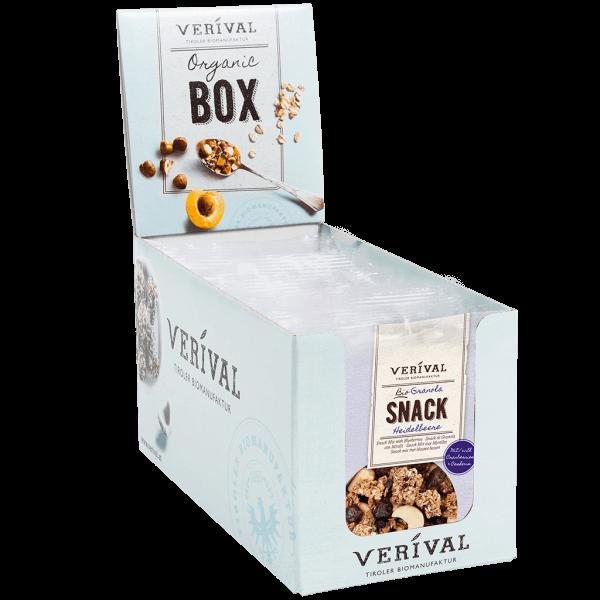 Verival Cereal-Box Granola Snack 12x 45g