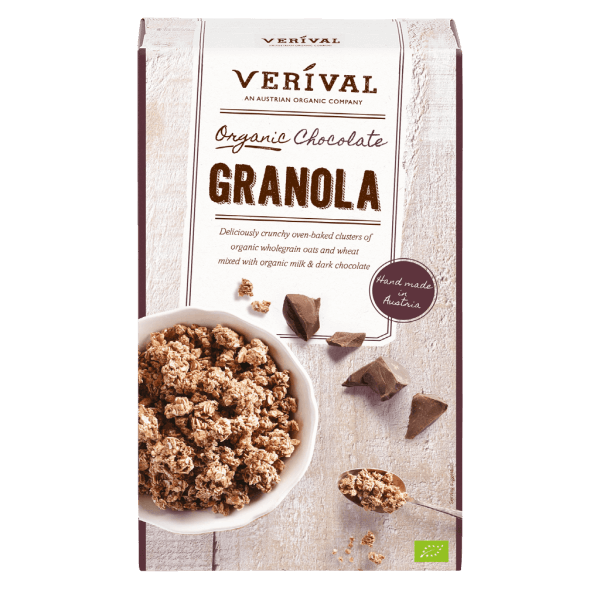 UK-40187 Organic chocolate granola