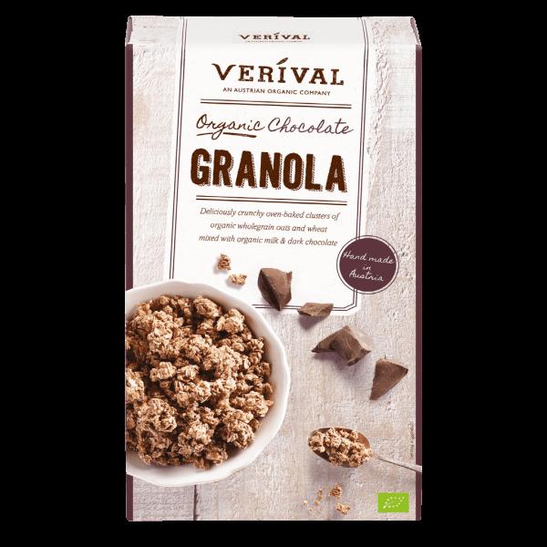 Verival Organic chocolate granola