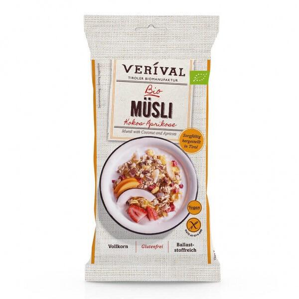 Verival Coconut-Apricot Muesli 40g