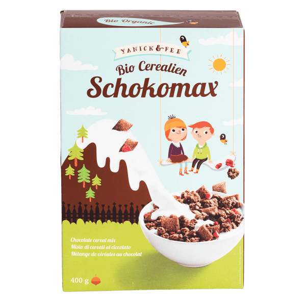 UK-40075 Chocolate Cereal Mix 400g