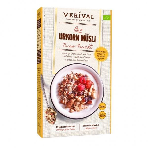 Heritage Grains Muesli with Nuts and Fruits