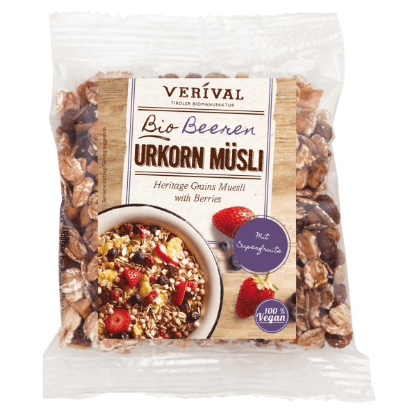 Heritage Grains Muesli with Berries 50g